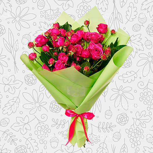 Spring flower bouquet #14