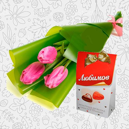 Spring flower bouquet #15