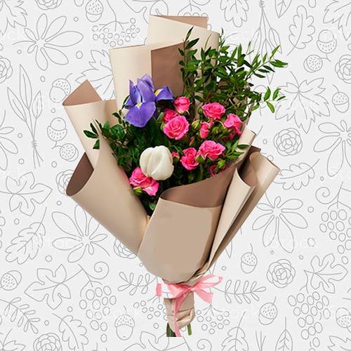 Spring flower bouquet #16