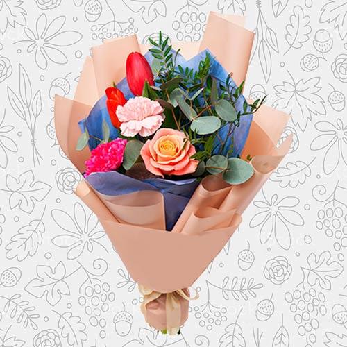 Spring flower bouquet #18