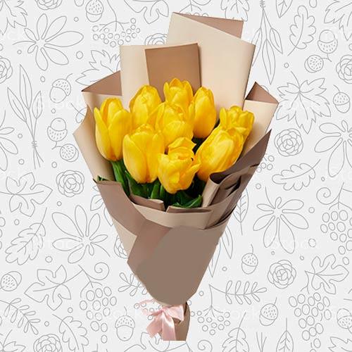 Spring flower bouquet #20