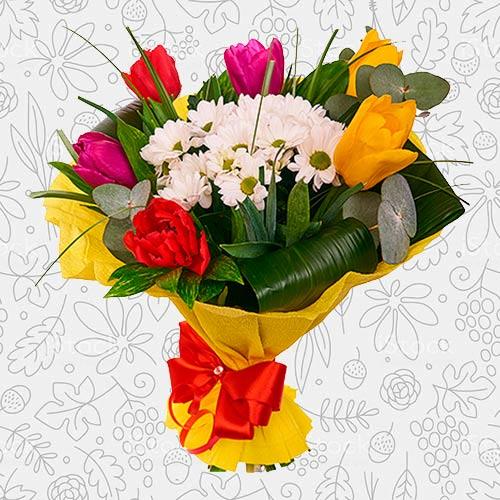 Spring flower bouquet #22