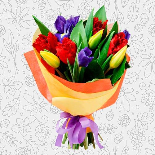 Spring flower bouquet #23