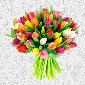 Spring flower bouquet #5