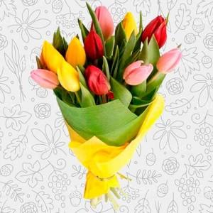 Spring flower bouquet #6