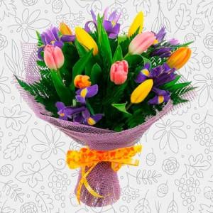 Spring flower bouquet #8